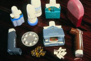 Медикаментозная терапия астмы
