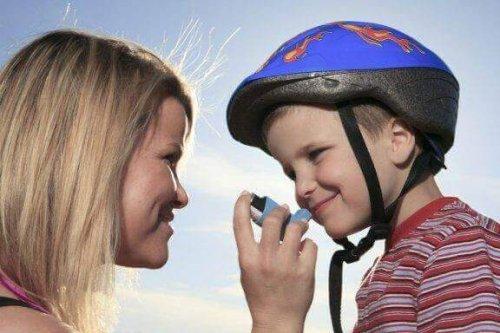 ребенок с астмой и спорт