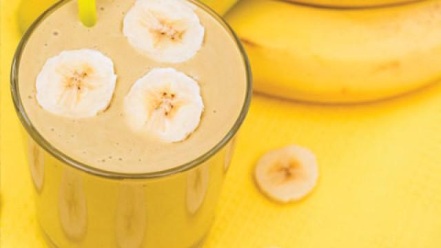 полезные напитки коктейль банановый
