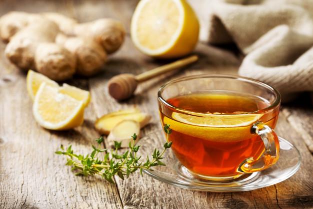 чай с имбирем при астме
