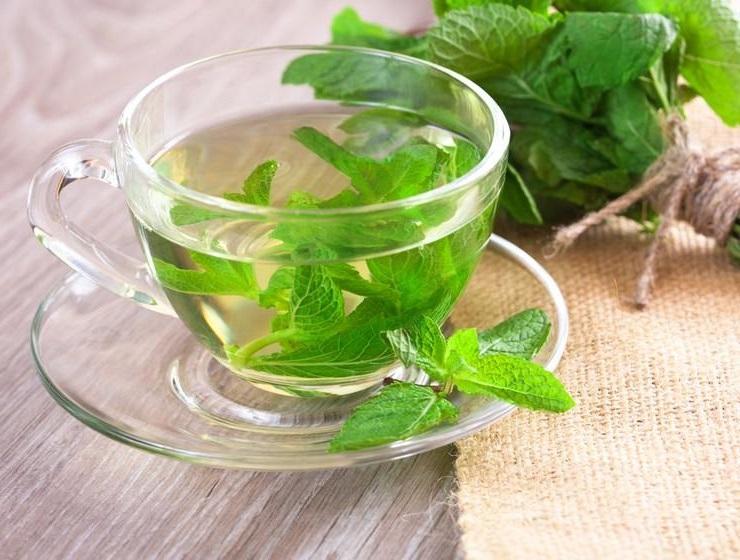 поленые напитки мятный чай