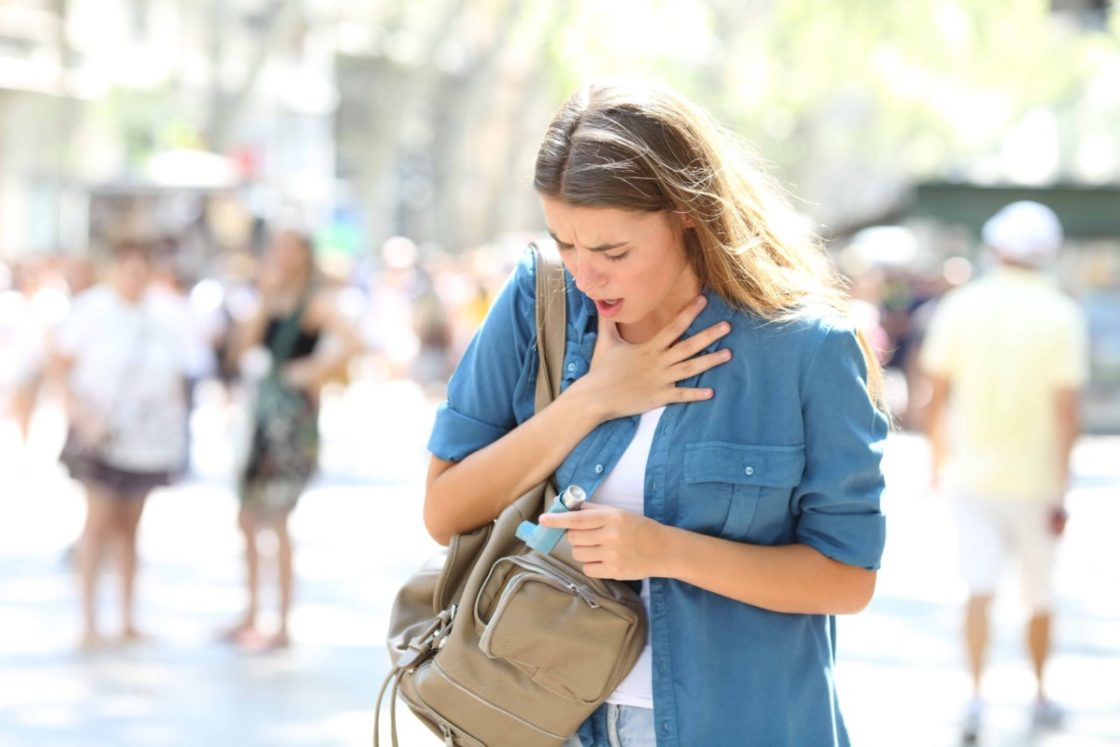астма отдых в городе