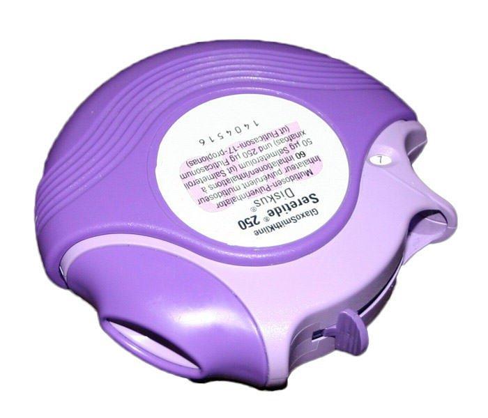 Вентолин в диске при астме