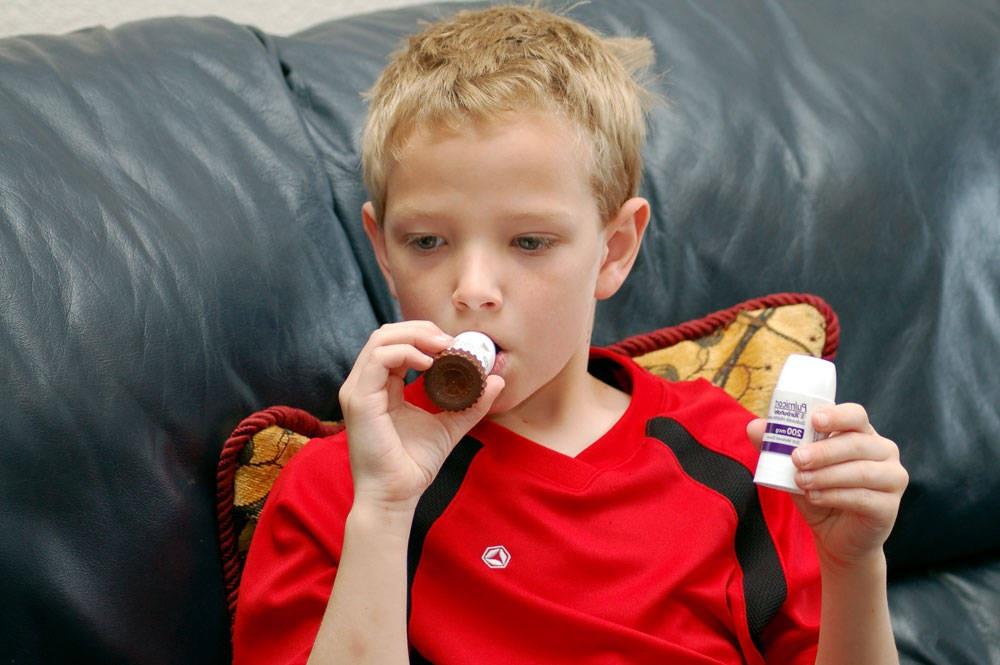 Приступ астмы у ребенка