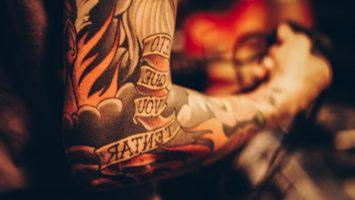 Уход за татуировкой